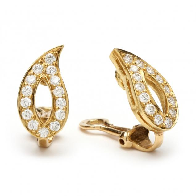 Diamond Earring Clips