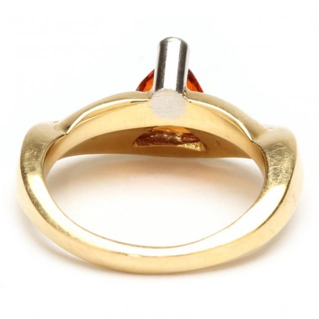 Spessartite Garnet Ring
