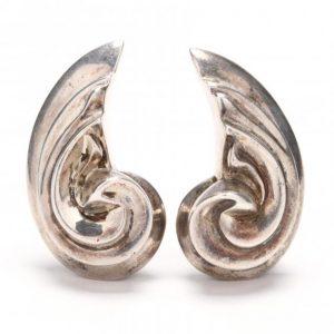 Patricia Von Musulin Sterling Earrings