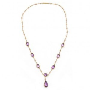 Amethyst Victorian Necklace