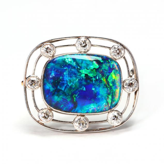 Black Opal Pin