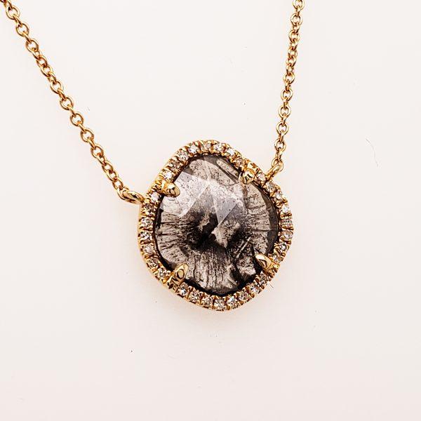 Diamond Slice Necklace