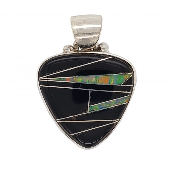 Onyx Inlay Pendant
