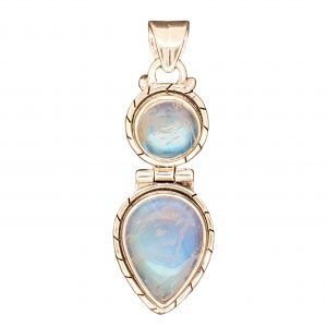 Sterling Moonstone Pendant