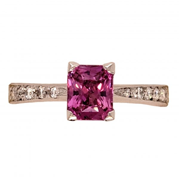 Magenta Sapphire Ring