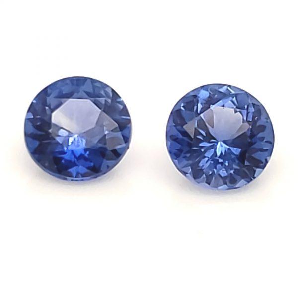 1..45 cts. Blue Sapphire Pair