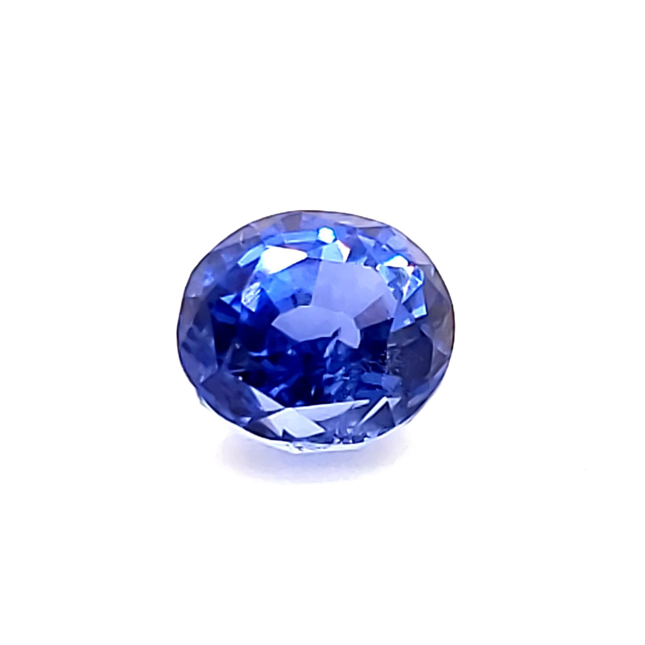2.52 ct. Blue Sapphire