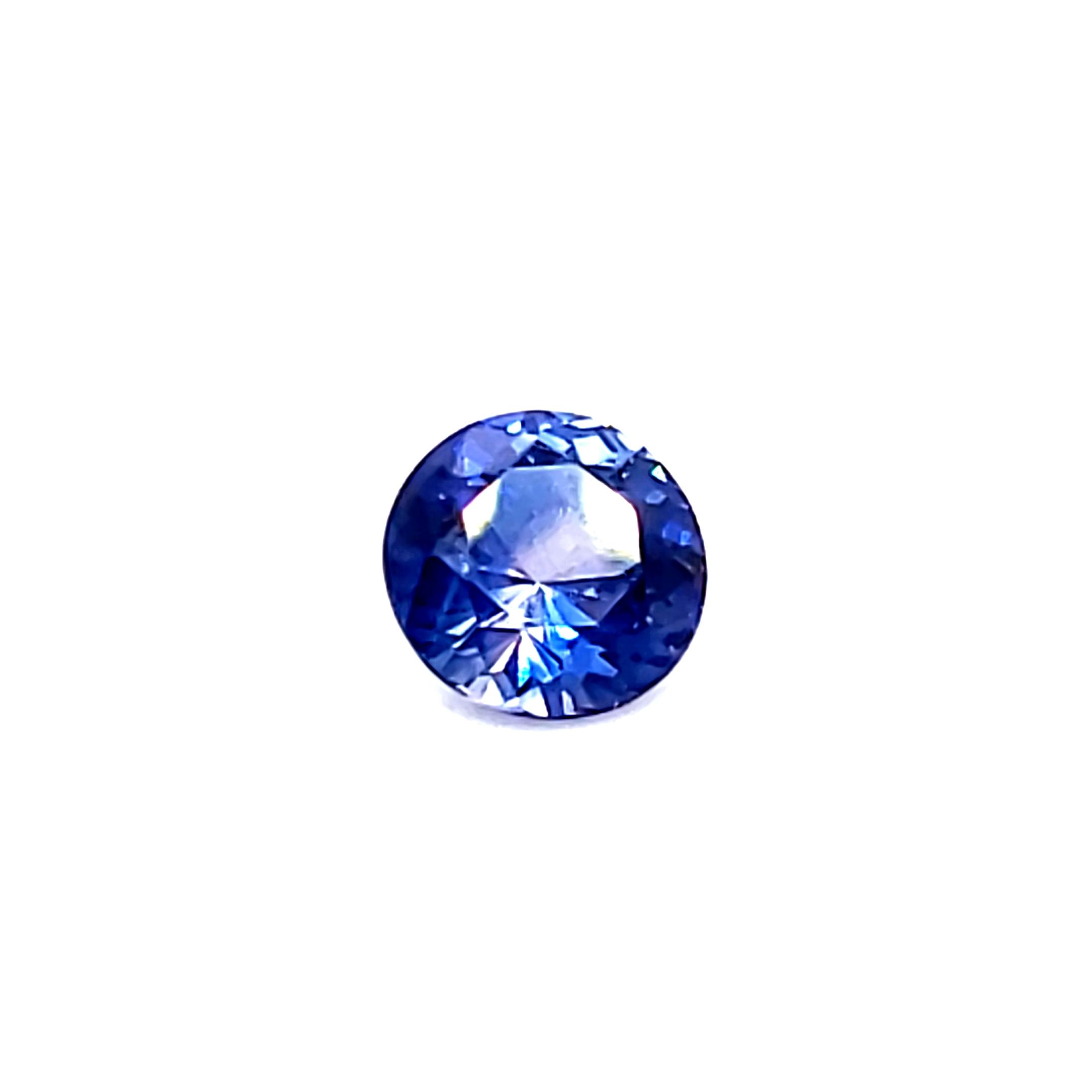 1.00 ct. Blue Sapphire