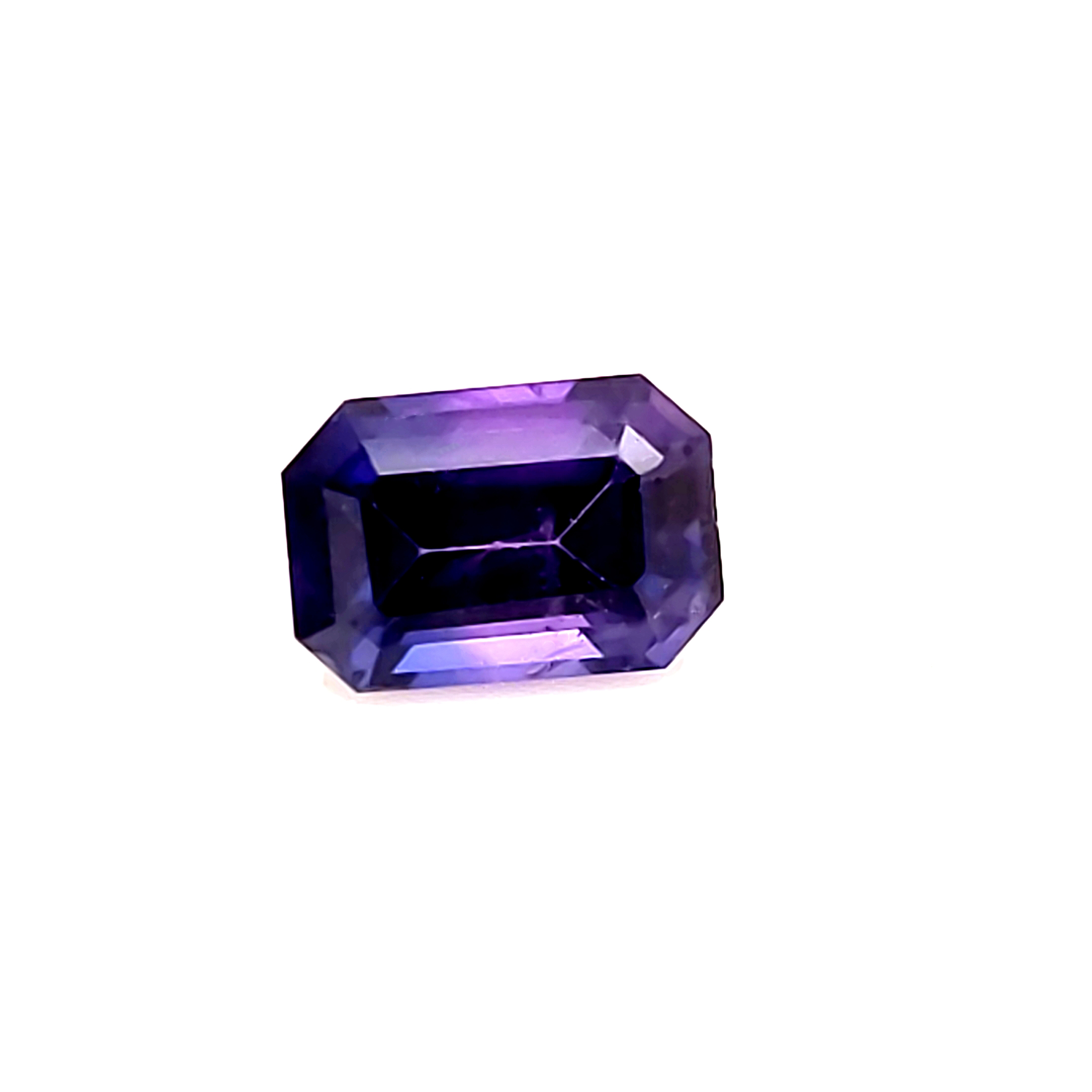 1.17 ct. Bicolor Purple and Blue Sapphire
