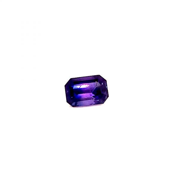 1.17 ct. Bicolor Purple and Blue Sapphire