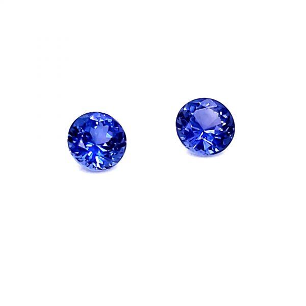1.63 ctw. Color Change Sapphire Pair