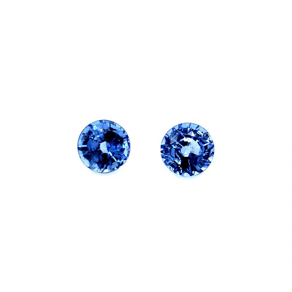 1.64 tcw Blue Sapphire Pair