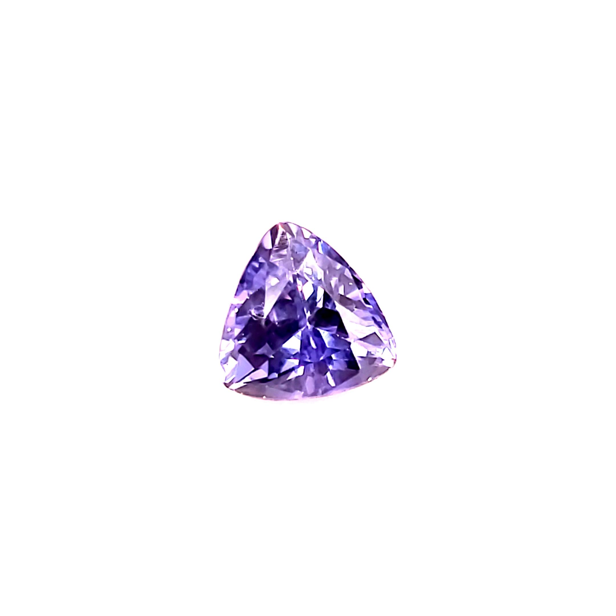 1.08 ct. Lavender Bluish Purple Sapphire