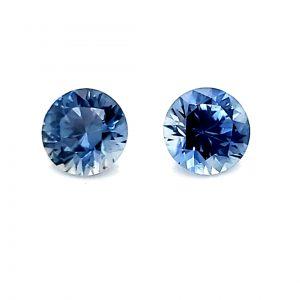 .64 tcw Montana Blue Sapphire Pair