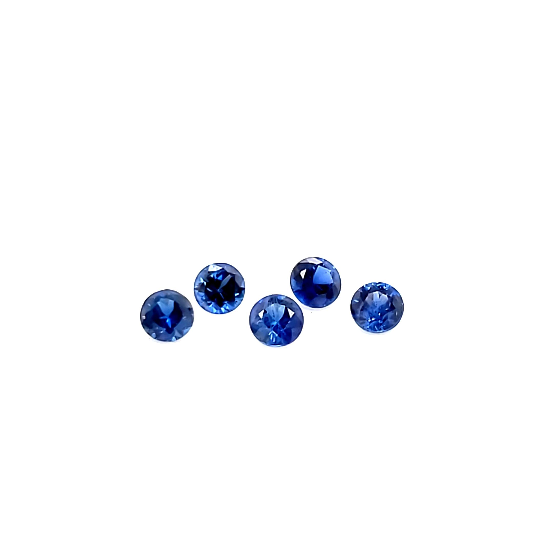 Australian Blue Sapphire Set