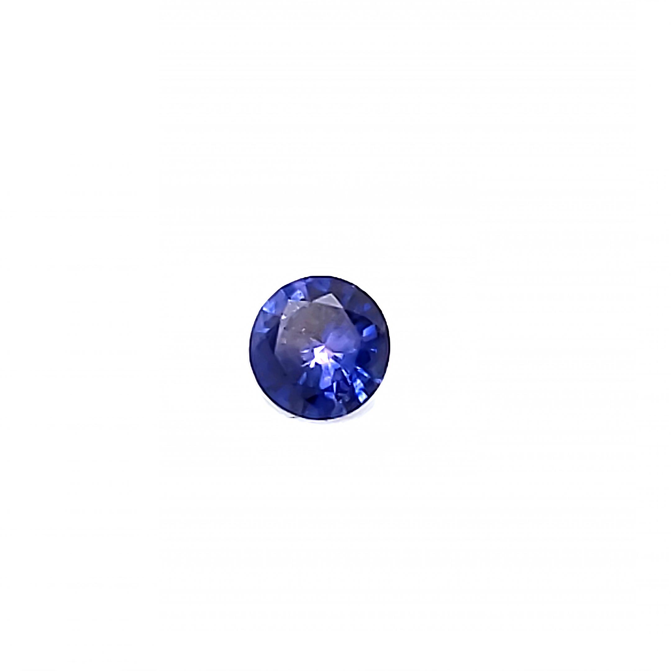 .25 ct. Purplish Blue Sapphire