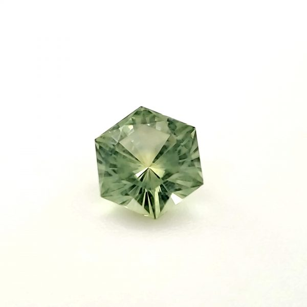 1.01 ct. Light Yellow Green Sapphire