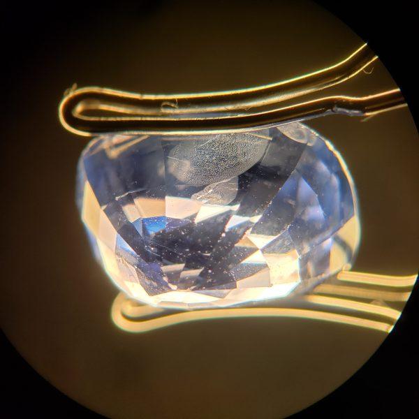 6.03 ct. Blue Sapphire