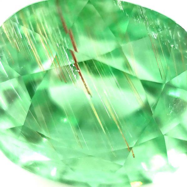 8.65 ct. Copper Bearing Green Tourmaline