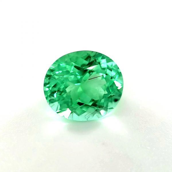 2.69 ct. Copper Bearing Neon Green Tourmaline