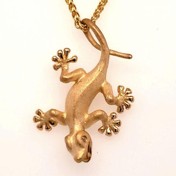 Denny Wong Gecko Pendant