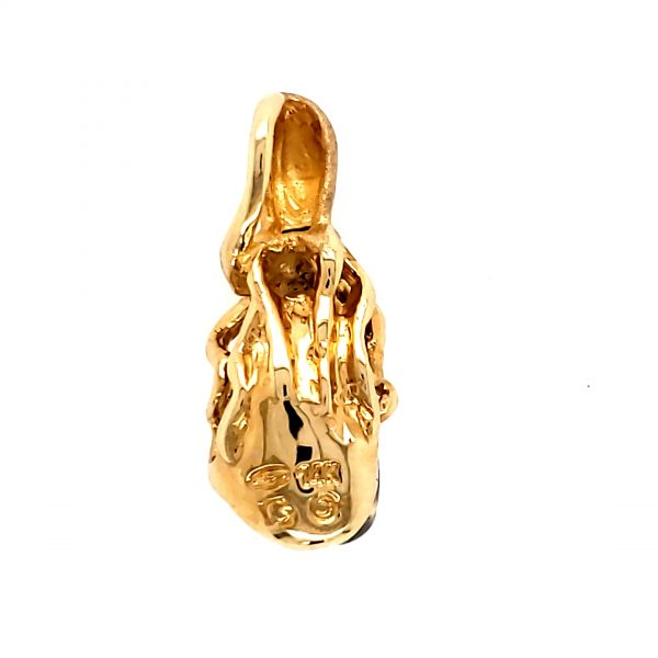 Denny Wong Black Opal Octopus Pendant