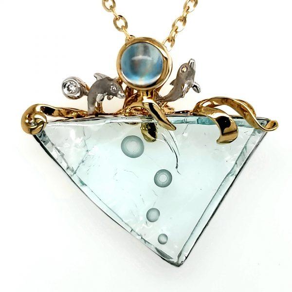 Denny Wong Aquamarine Pendant