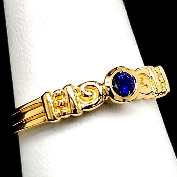 .14 ct. Blue Sapphire 14k Ring