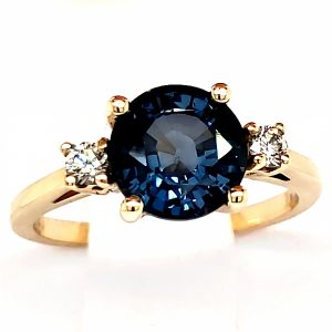 2.18 ct. Blue Spinel 14k RIng