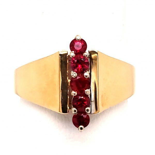 .49 ct. Ruby 14k Ring