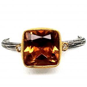 2 carat Zultanite Ring