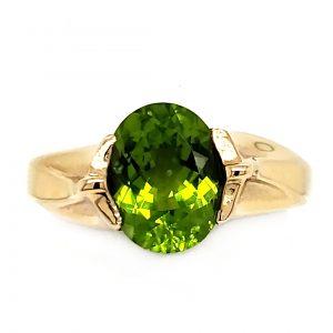 2.88 ct. Arizona Peridot Ring